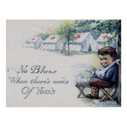 No Blues When News of You Postcard