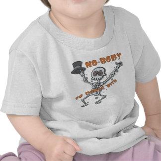 """NO-BODY"" Childrens Halloween Infant Shirt"