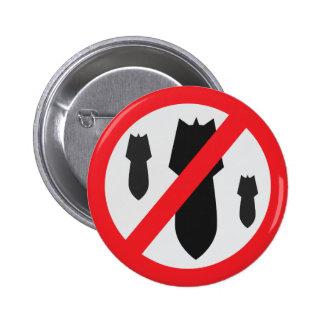 No Bombs - Peace Button