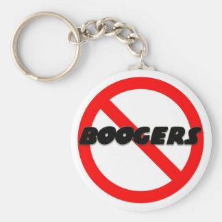 No Boogers Keychain