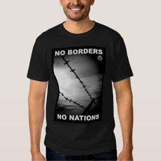 no borders no nations t-shirt