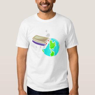 no borre hacia fuera el planeta remeras