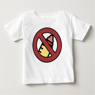 No Bottle Breastfed Baby Baby T-Shirt