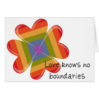 No Boundaries Card