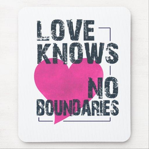 No Boundaries mousepad
