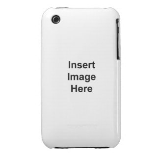 No Boundaries Template iPhone 3G/GS iPhone 3 Case-Mate Cases