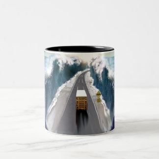 No Boundries Two-Tone Coffee Mug