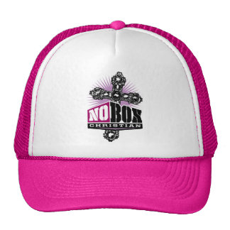 No Box Christian Hat