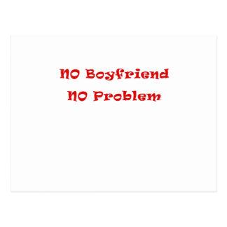 No Boyfriend No Problem Postcard