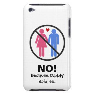 NO Boyfriends iPod Touch Case-Mate Case