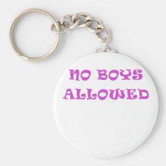 No Boys Allowed Key Chains