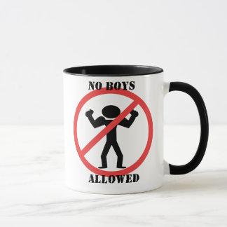 No Boys Allowed Mug