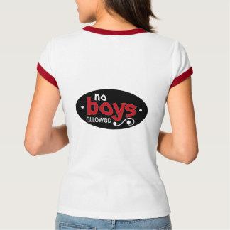 No Boys Allowed T Shirt