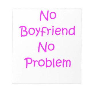 No boys notepad