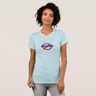 NO BOZOS - woman's t-shirt
