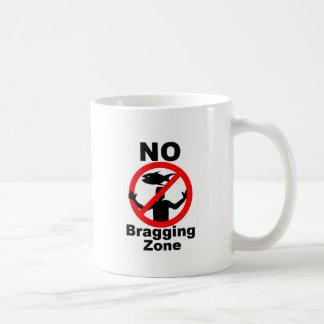 NO Bragging Zone Mug