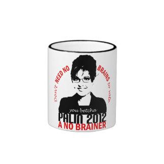 No Brains Mug