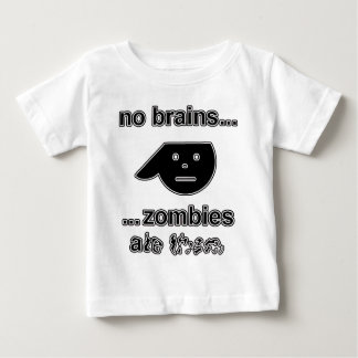 No Brains...Zombies Ate Them...(Original) Baby T-Shirt