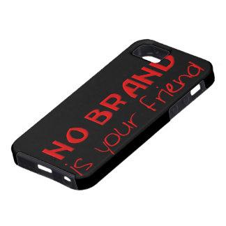 No Brand Is Your Friend anti-consumerist slogan iPhone SE/5/5s Case