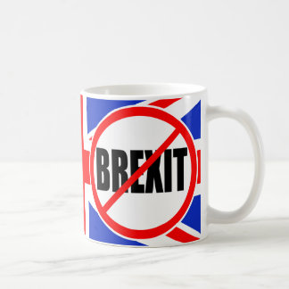 """NO BREXIT"" COFFEE MUG"