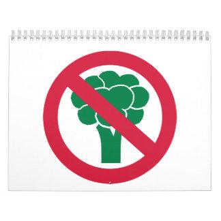 No broccoli calendars
