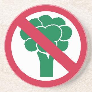 No broccoli drink coaster