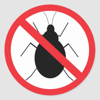 No Bug Sticker