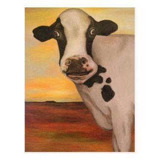 No Bull Detail Postcard