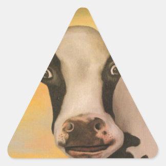 No Bull Detail Triangle Sticker