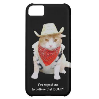 No Bull Funny Cat Case For iPhone 5C