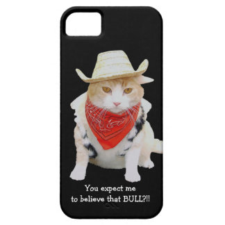 No Bull Funny Cat iPhone 5 Case