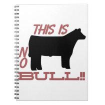 No Bull! Notebook
