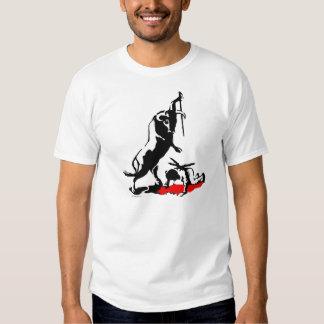 NO BULLFIGHTING BUL-A-DOR STENCIL TORRO W MEN'S T-Shirt
