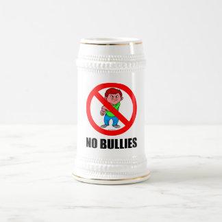 NO BULLIES BEER STEIN
