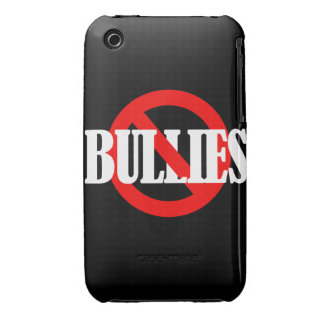 NO BULLIES iPhone 3 Case-Mate CASES