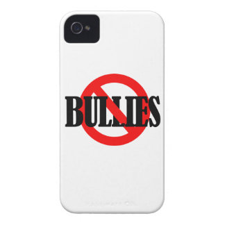 NO BULLIES Case-Mate iPhone 4 CASES