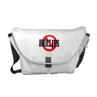 NO BULLIES COURIER BAG