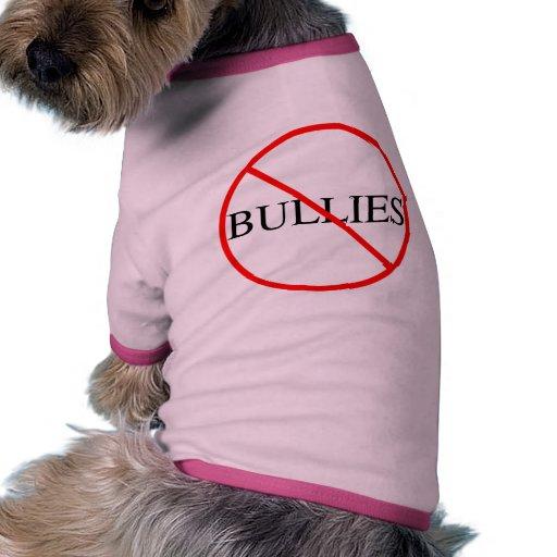 No Bullies Doggie Shirt