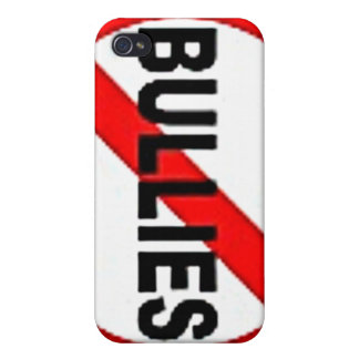 no bullies iPhone 4 cover
