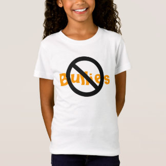 'No Bullies'  Kids Tee