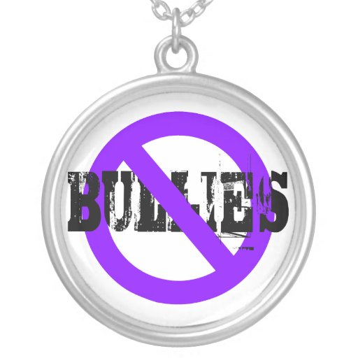 No Bullies Message Necklace