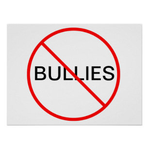 Stop Bullying Posters Prints Zazzle