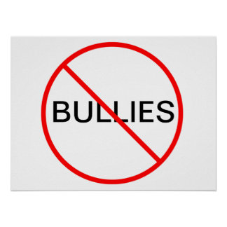 No Bullies Poster