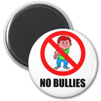 NO BULLIES REFRIGERATOR MAGNET