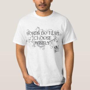 12280ead No Bullies - Words Do Hurt Shirt