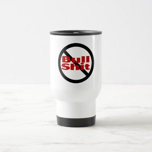 No Bullshit 15 Oz Stainless Steel Travel Mug