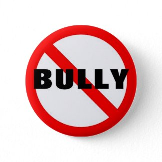 No Bully Pinback Buttons