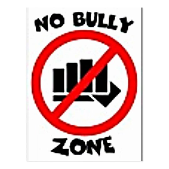 No Bully Mulit Products personalize your text Postcard