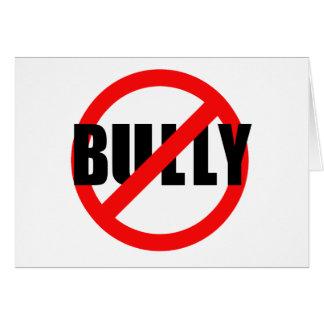 No Bully No Bullying Tshirts, Sweats, Buttons Card