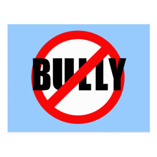 No Bully No Bullying Tshirts, Sweats, Buttons Postcard